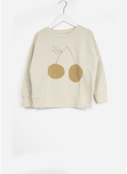 Bobo Choses trui cherry round neck sweatshirt