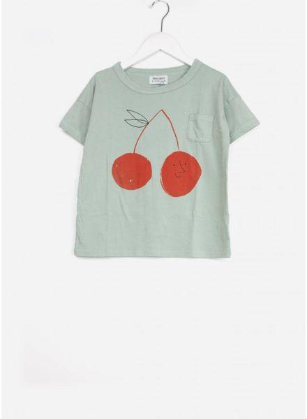 Bobo Choses shirt cherry short sleeve
