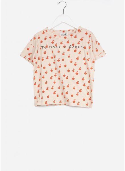 Bobo Choses shirt apples short sleeve