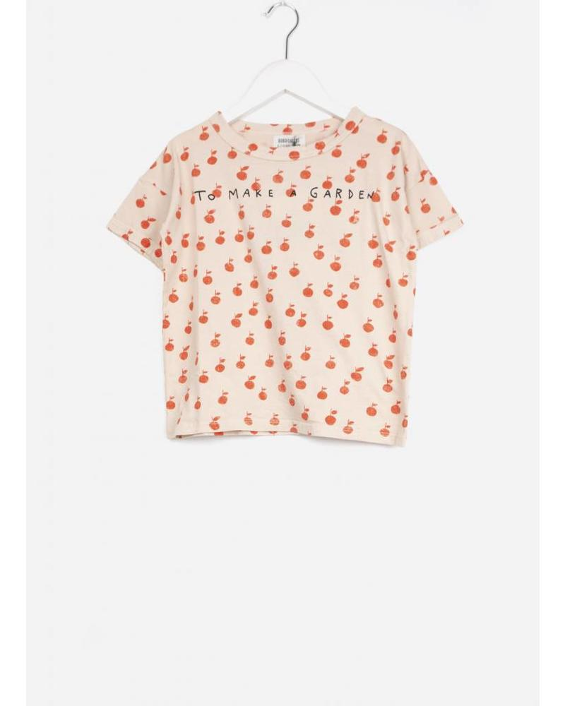 Bobo Choses apples short sleeve tshirt