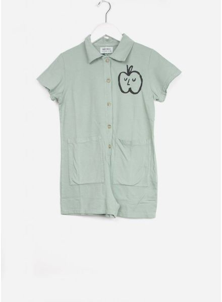 Bobo Choses onepiece apple pockets playsuit