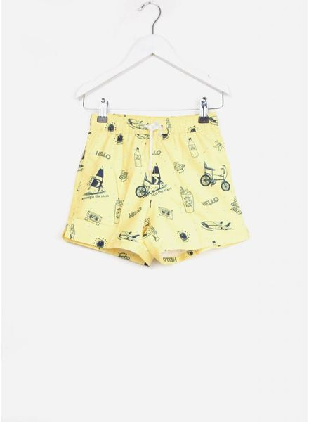 Soft Gallery zwembroek dandy swim pants goldfinch starsurfer