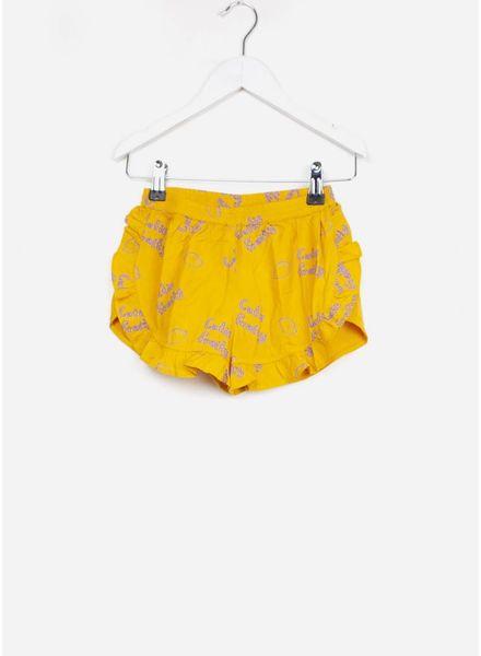 Soft Gallery short dusty shorts sunflower lemon