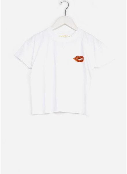 Soft Gallery shirt dharma t-shirt white leolips