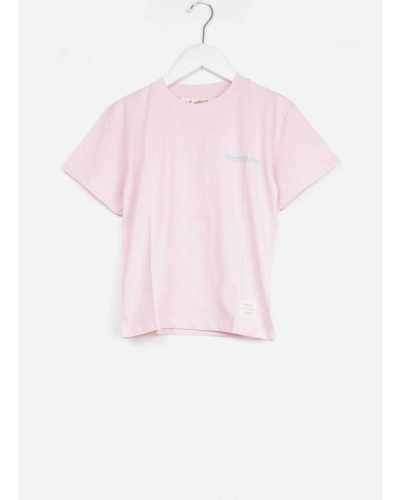 Soft Gallery asger t-shirt parfait pink ours