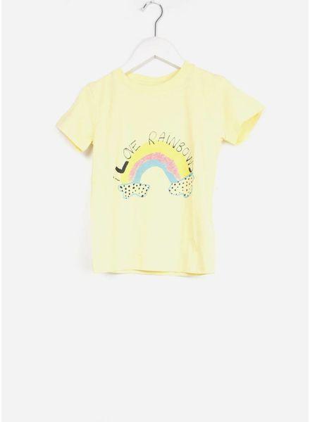 Soft Gallery shirt bass t-shirt french vanilla rainbow