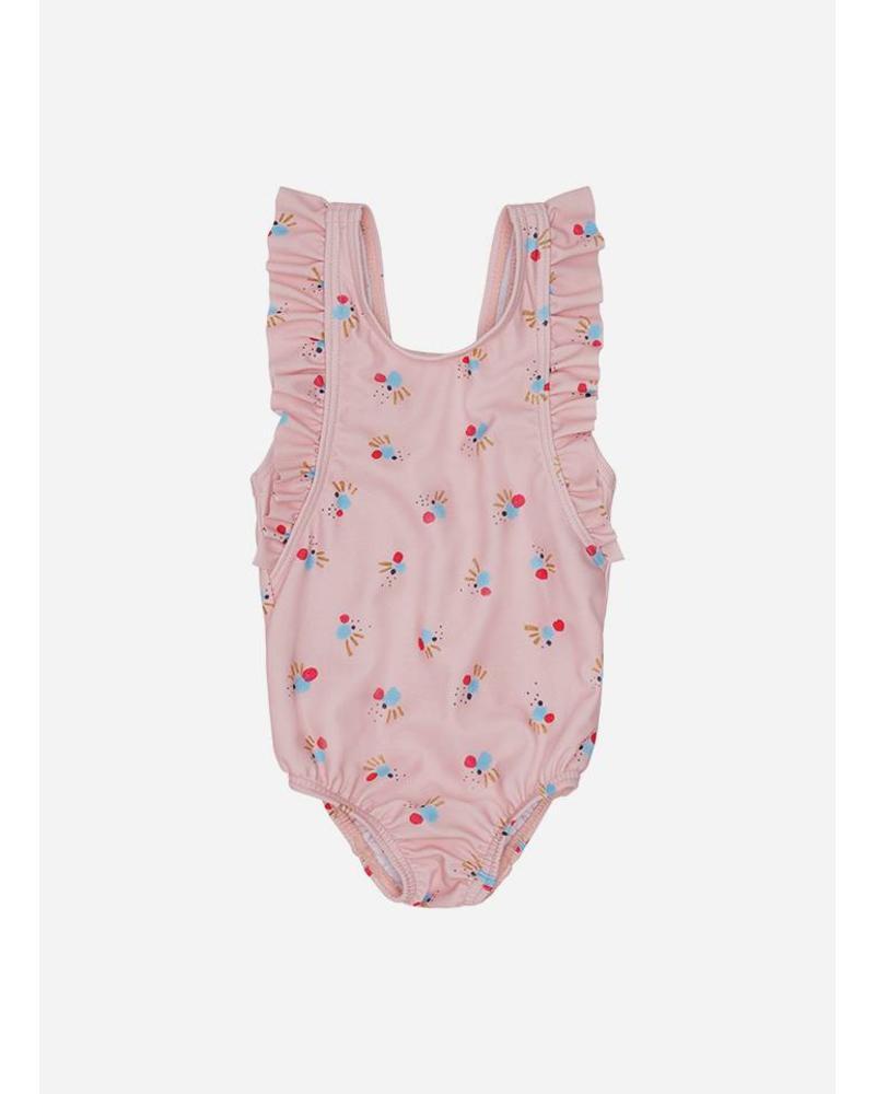Soft Gallery baby ana swimsuit chintz rose cockatoo