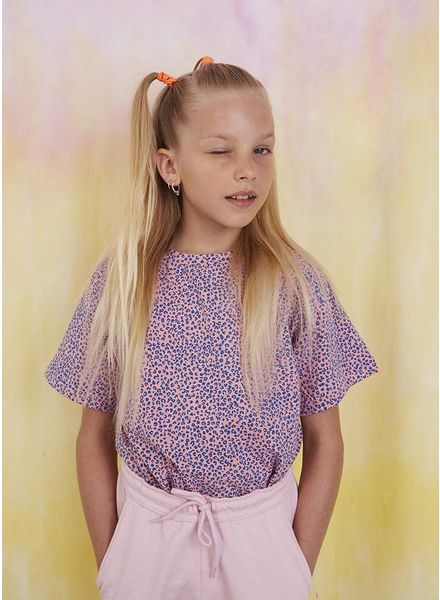 Soft Gallery shirt dominique t-shirt pink icing leospot