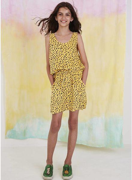 Soft Gallery jurk darla dress mimosa scribble