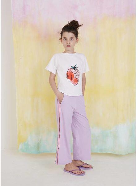 Soft Gallery shirt dominique t-shirt white fraise