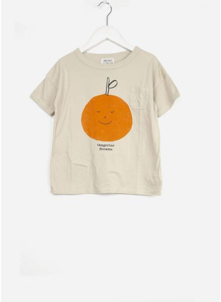 Bobo Choses shirt tangerine dreams short sleeve