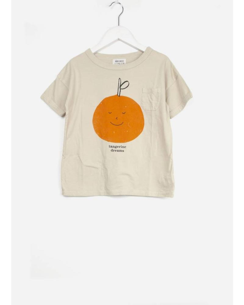 Bobo Choses tangerine dreams short sleeve tshirt