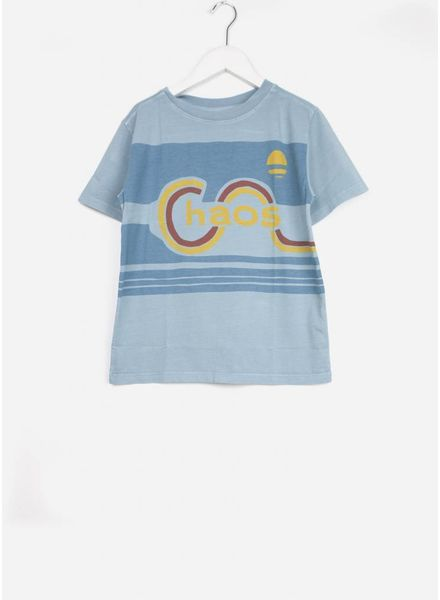 Repose tee shirt weathered dreamy blue