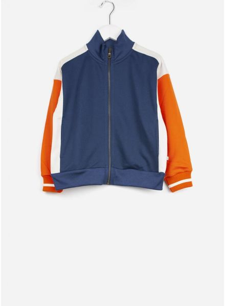 Repose vest track jacket deep night blue