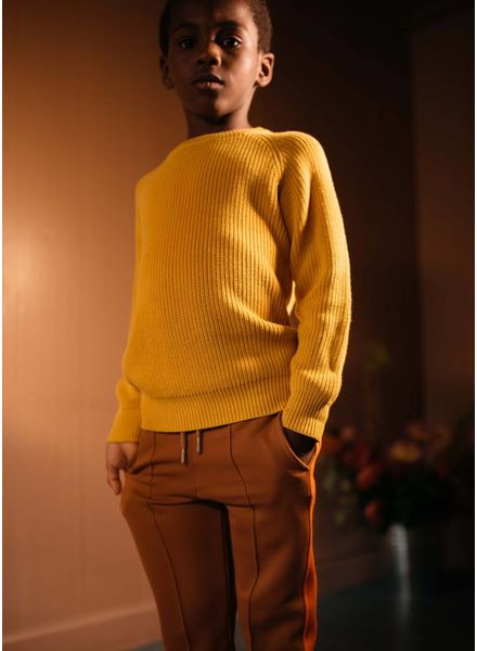 Repose trui knit sweater yellow golden
