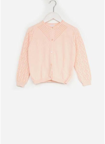 Morley vest justine cotton rose