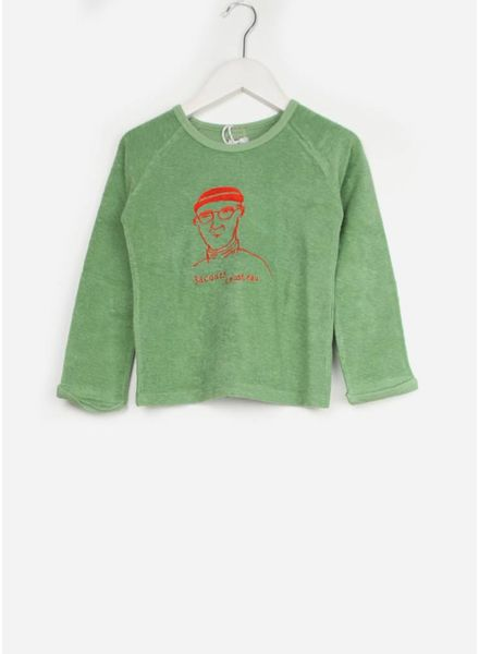 Morley trui jacques cousteau algae sweat