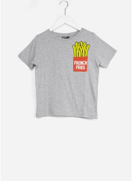 Yporque shirt french fries tee melange