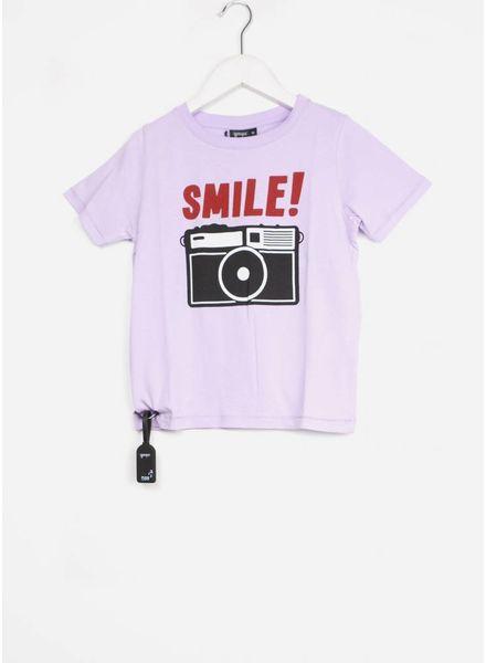 Yporque shirt camera tee lilac