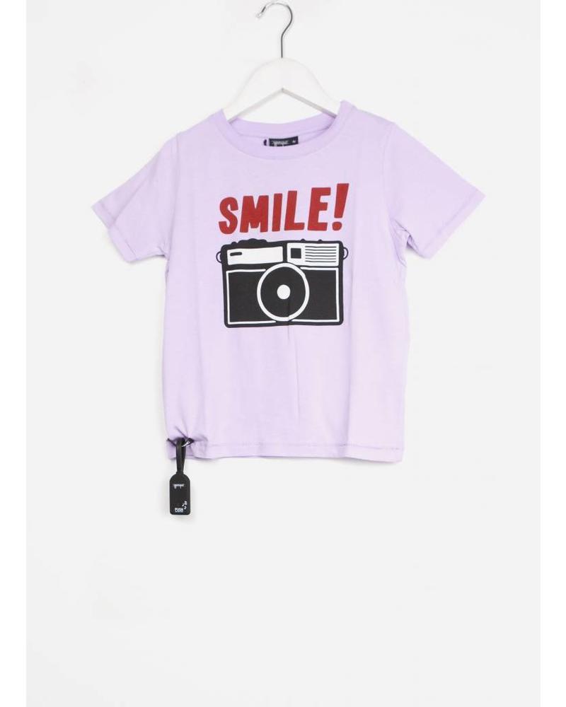 Yporque camera tee lilac