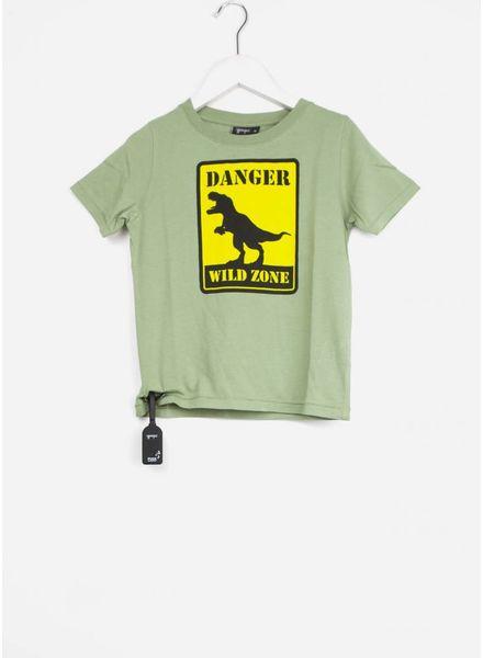 Yporque shirt dino tee nasty green