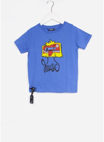 Yporque shirt cassettee tee high blue