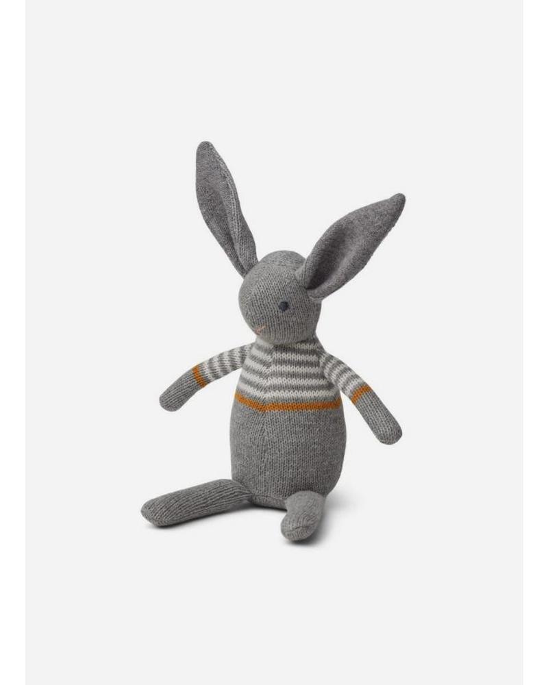 Liewood vigga knit rabbit grey melange