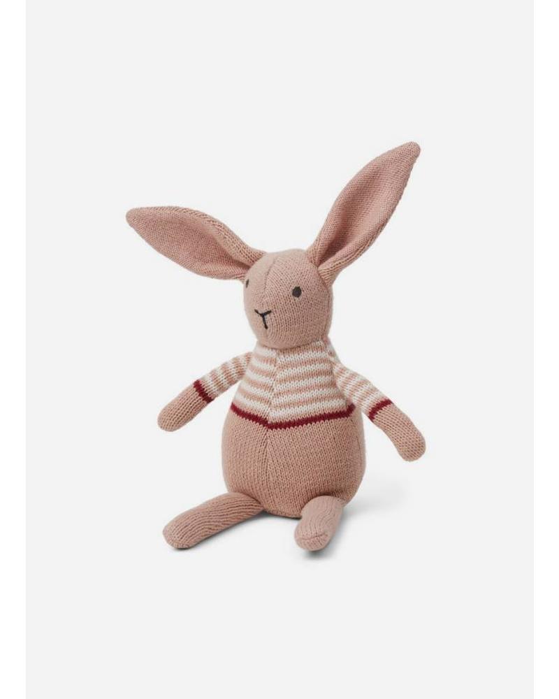 Liewood vigga knit rabbit rose