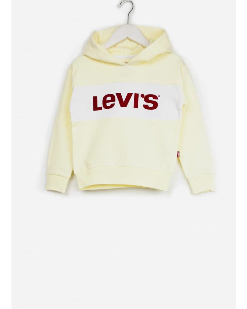 Levi's sweater monaco transparent yellow