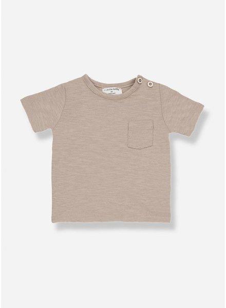 1+ In The Family domenico s.sleeve t-shirt argila