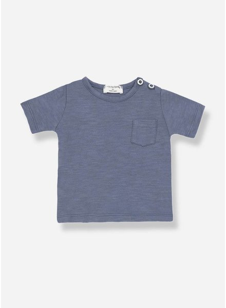 1+ In The Family domenico s.sleeve t-shirt indigo