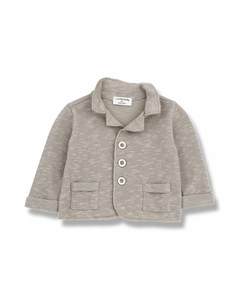 1+ In The Family ernie jacket taupe