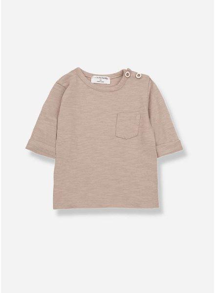 1+ In The Family john long sleeve t-shirt argila