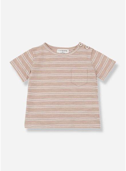 1+ In The Family luca shirt argila/white