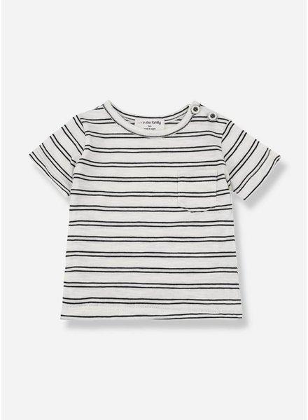 1+ In The Family luca shirt off-white/black