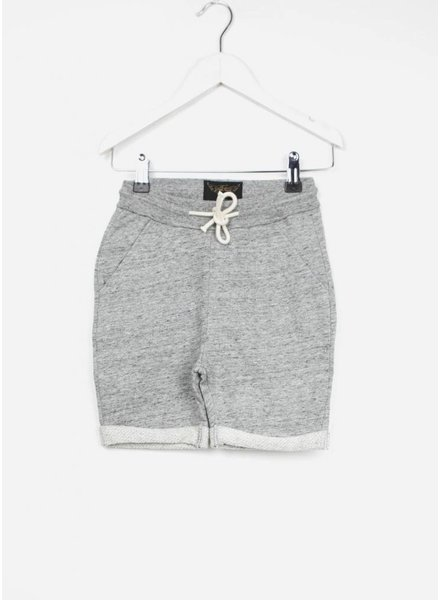 Finger in the nose short grounded heater grey comfort pants