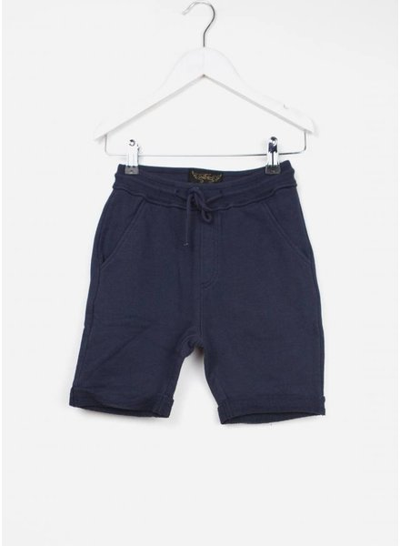 Finger in the nose short grounded super navy comfort pants