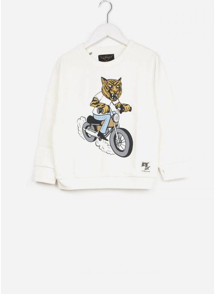 Finger in the nose trui brian off white moto tiger