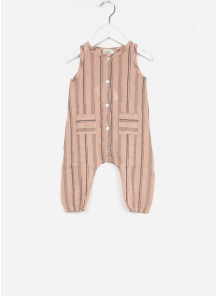 Buho onepiece zeus beach stripes old rose