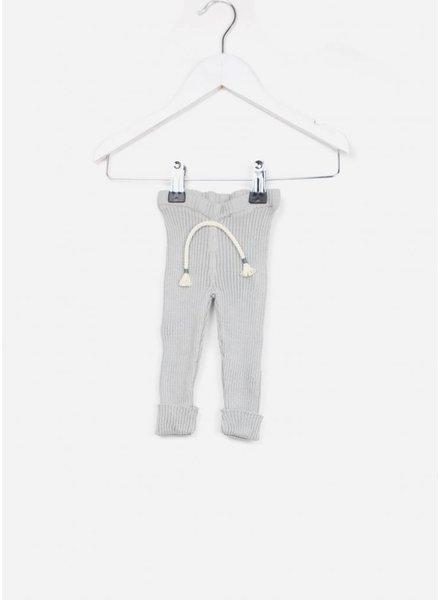 Buho broekje jess baby knitted legging cloud