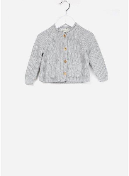 Buho vestje peter knitted cardigan cloud