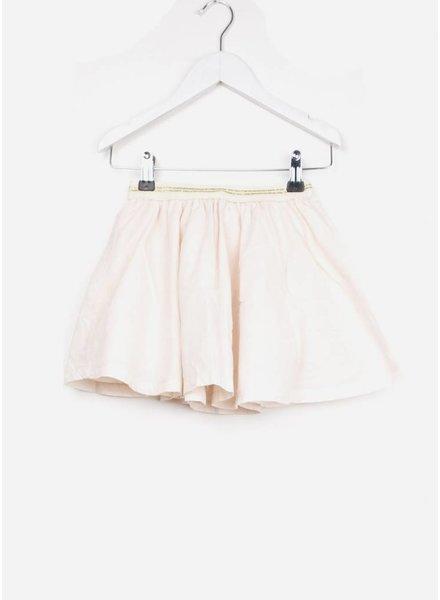 Buho rok bambi voile check girl skirt light pink