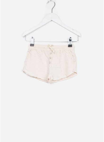 Buho short maylis cotton jersey girl short light pink