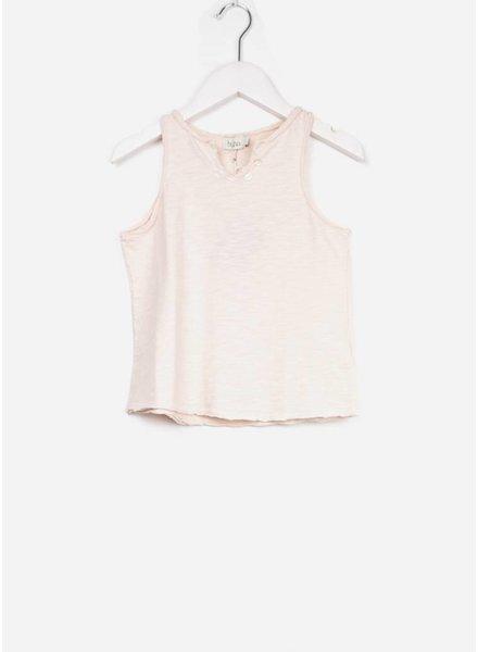 Buho shirt belle cotton girl tshirt light pink