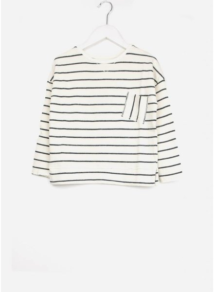 Buho trui biarritz navy stripes sweater