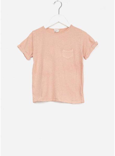Buho shirt jan cotton linen t-shirt old rose