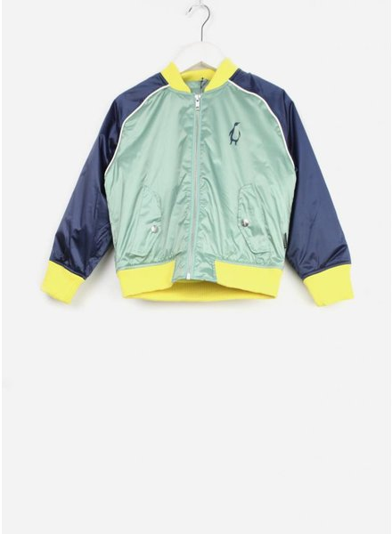 Gosoaky jacket golden goose granite green