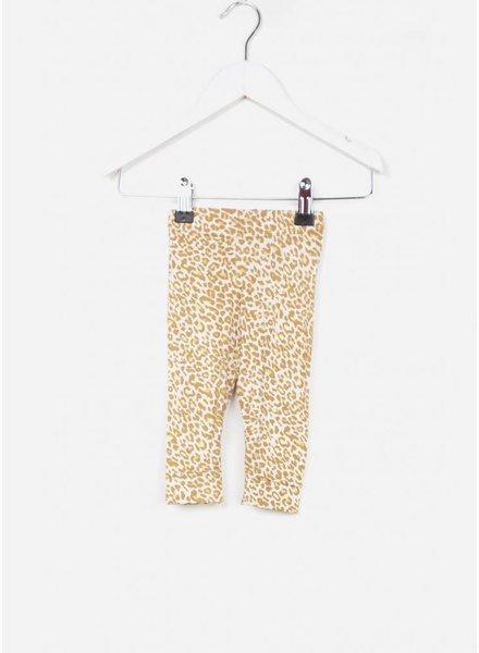 MarMar Copenhagen broekje leo leg gold leopard caramel leo