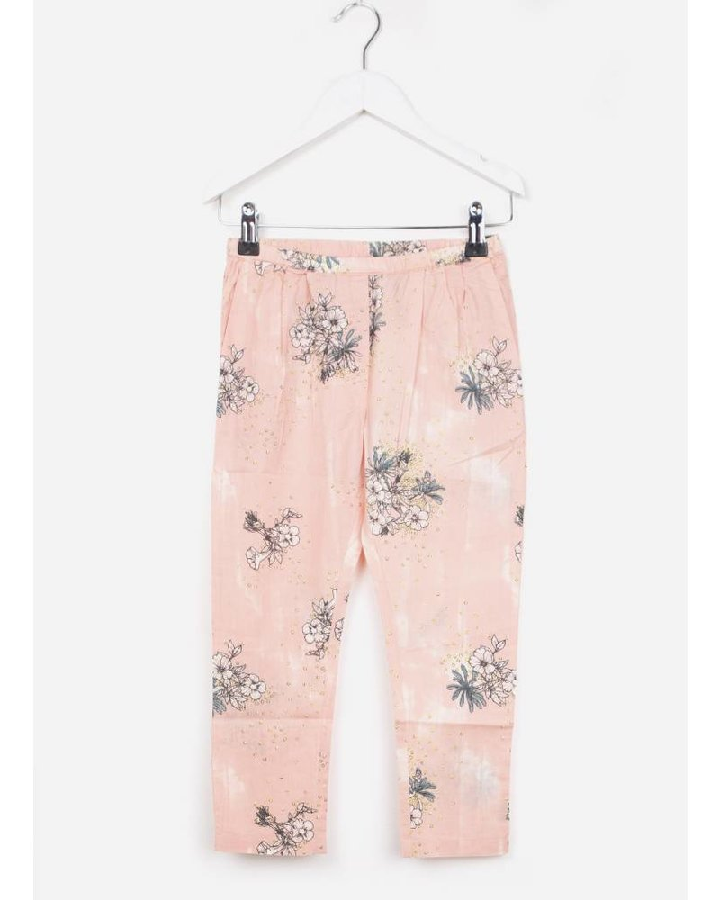 MarMar Copenhagen penny pants morning rose lilies