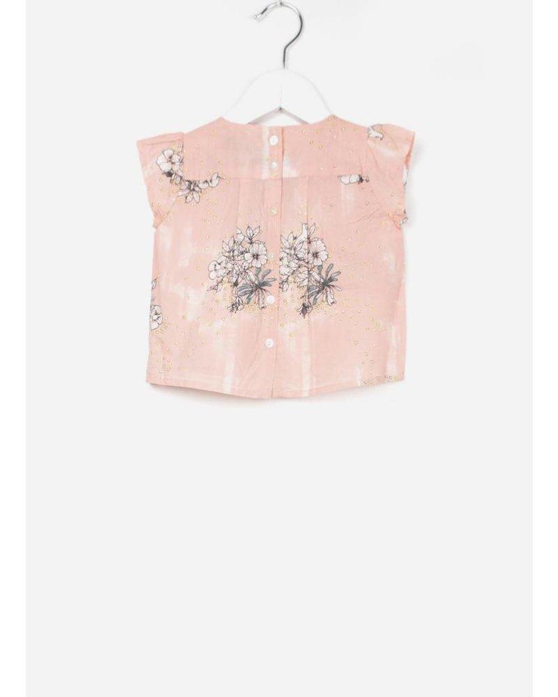 MarMar Copenhagen tuss ss shirt morning rose lilies